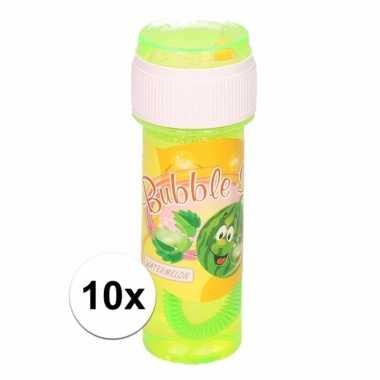 10x voordelige bellenblaas watermeloen geur