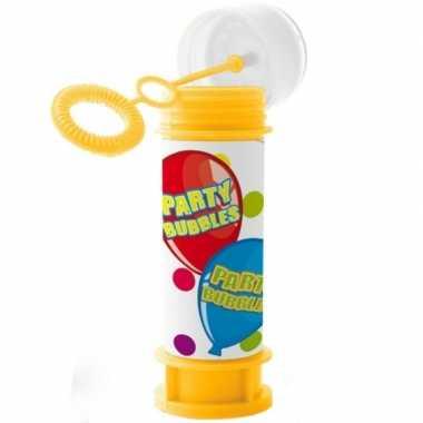 24x bellenblaas party bubbles 60 ml speelgoed voor kinderen