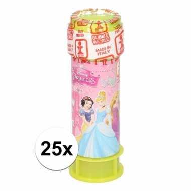 25x bellenblaas disney princess
