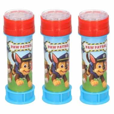 6x bellenblaas paw patrol 60 ml speelgoed voor kinderen