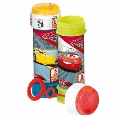 8x bellenblaas cars 60 ml speelgoed voor kinderen