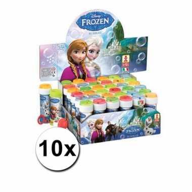 Grootverpakking frozen bellenblaas 10x
