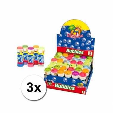 Speelgoed bellenblaas 3 stuks