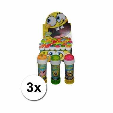 Spongebob bellenblaas 3 stuks