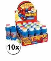 Grootverpakking spiderman bellenblaas 10x